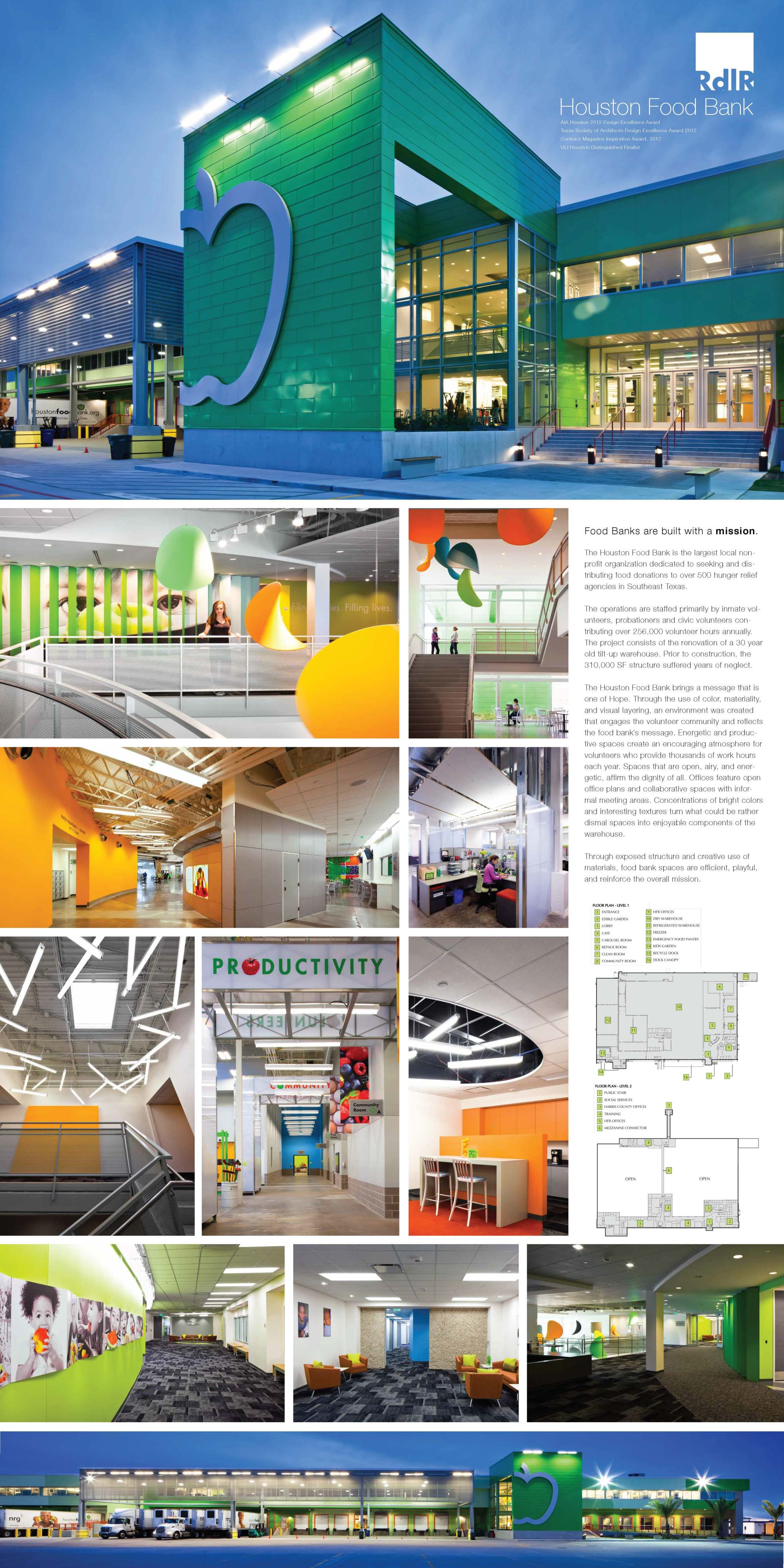Food Bank Board for Arch Foundation Interiors - Small
